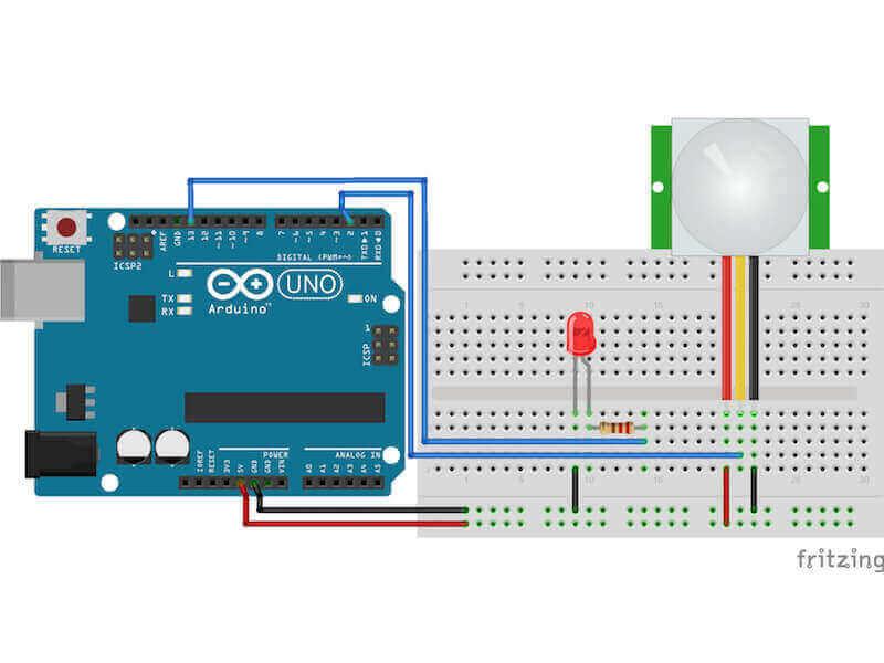 Arduino hareket sensörü kullanımı