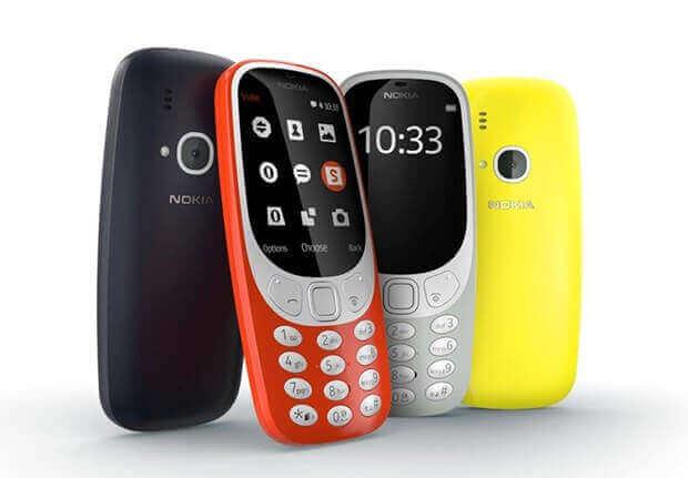 Yeni Nokia 3310 resmi olarak
