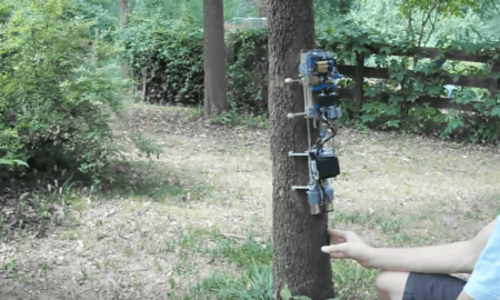 Arduino ağaç tırmanan robot