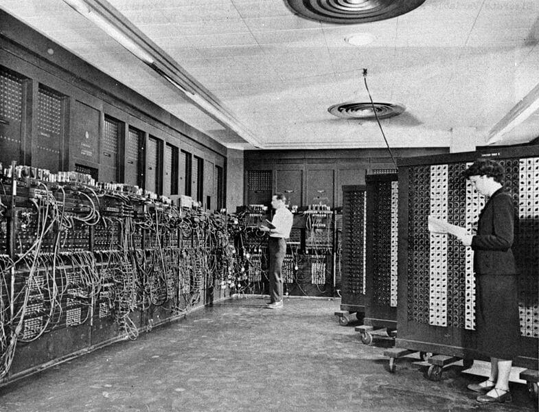 ENIAC bilgisayarı, ilk bilgisayar