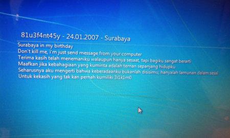 Surabaya in my birthday Virüsü ve Çözüm Yolları