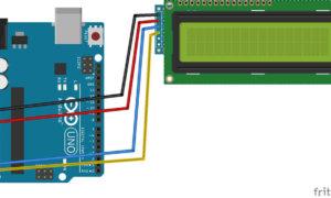Arduino lcd i2c bağlantı şeması