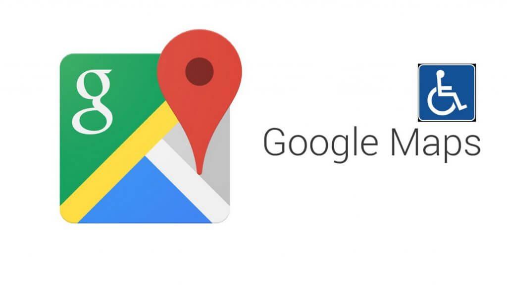 google maps tekerlekli sandalye