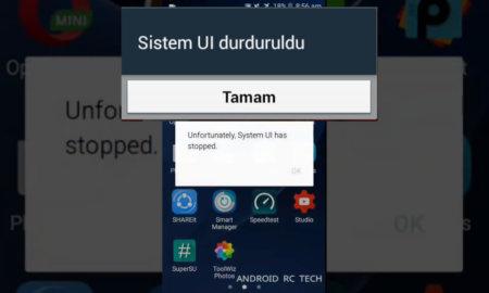 Android Durduruldu Hatası ve Çözüm Yolları nelerdir
