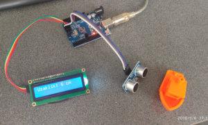 Mesafe Sensörü ve Lcd Ekran